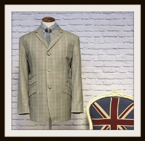 "THE MODCLOTHIN ""BRADLEY"" CHECKED SUIT"